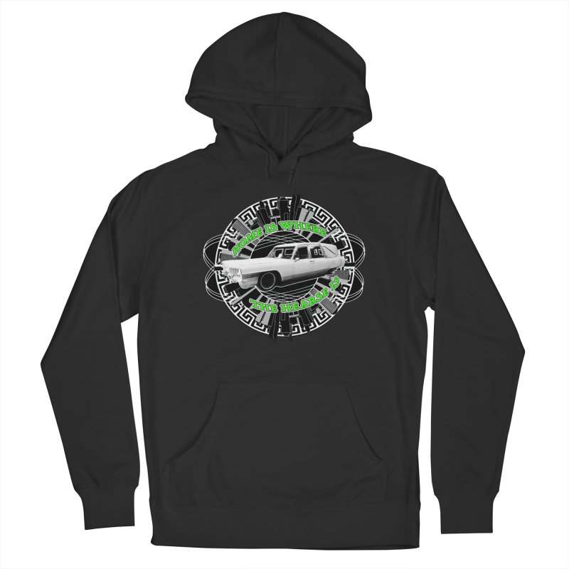 Home is Where the Hearse Is Women's French Terry Pullover Hoody by Clare Bohning's Shop