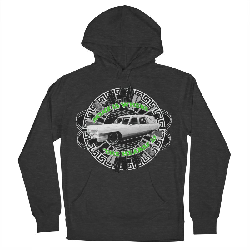Home is Where the Hearse Is Men's French Terry Pullover Hoody by Clare Bohning's Shop