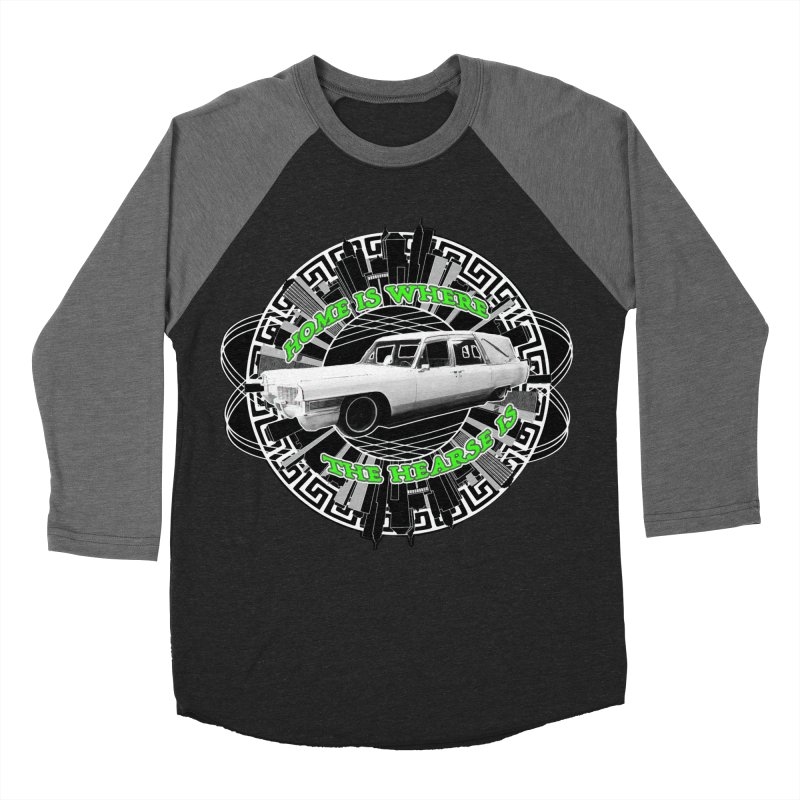 Home is Where the Hearse Is Men's Baseball Triblend Longsleeve T-Shirt by Clare Bohning's Shop