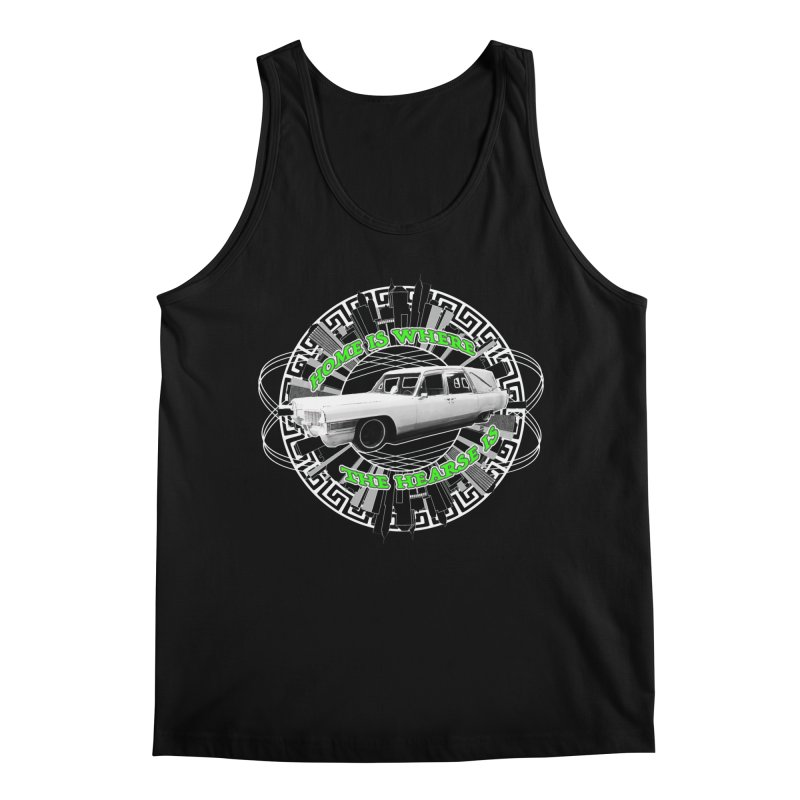 Home is Where the Hearse Is Men's Regular Tank by Clare Bohning's Shop