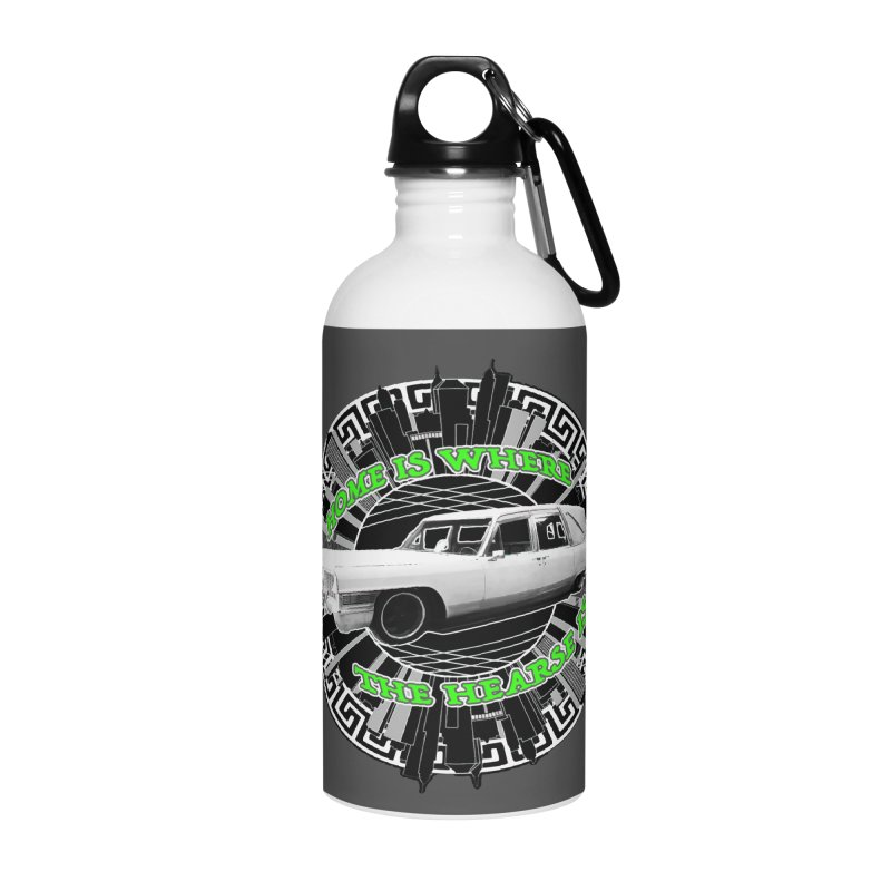 Home is Where the Hearse Is Accessories Water Bottle by Clare Bohning's Shop