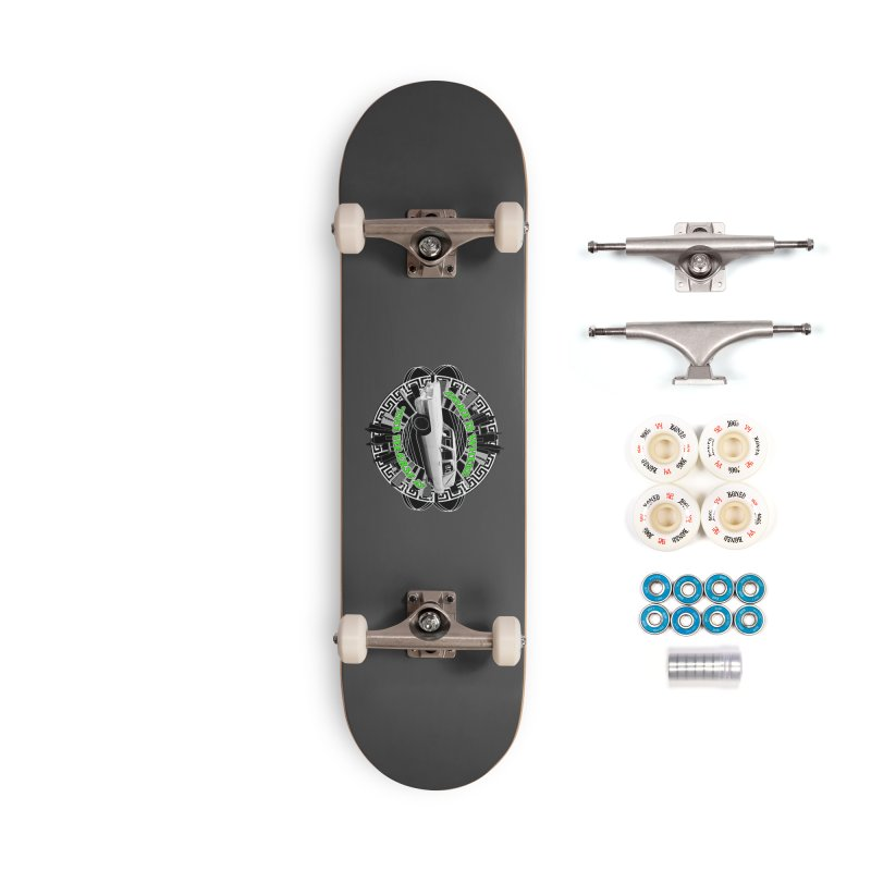 Home is Where the Hearse Is Accessories Complete - Premium Skateboard by Clare Bohning's Shop