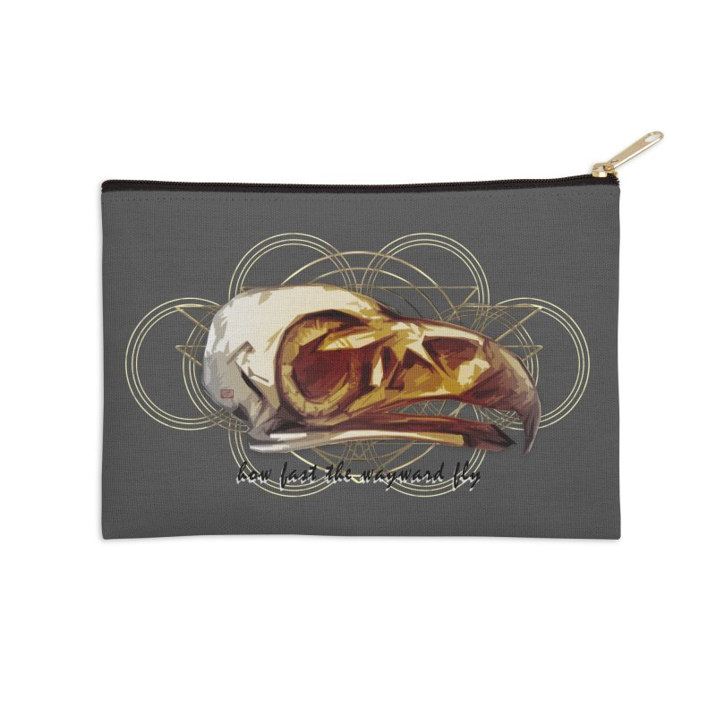 How Fast the Wayward Fly Accessories Zip Pouch by Clare Bohning's Shop