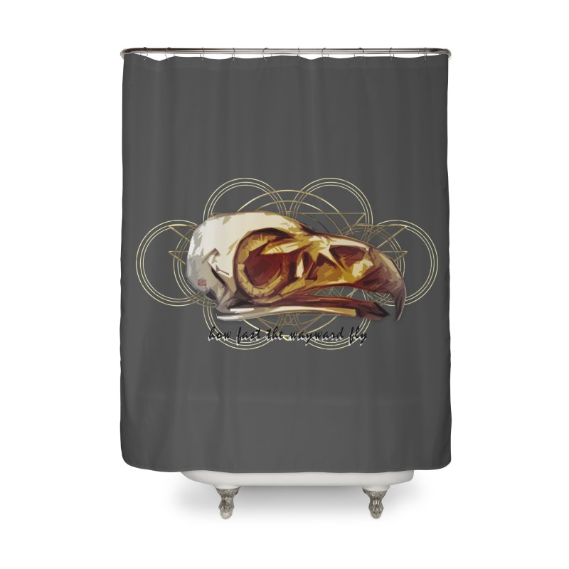 How Fast the Wayward Fly Home Shower Curtain by Clare Bohning's Shop
