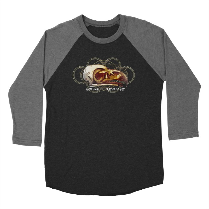 How Fast the Wayward Fly Men's Baseball Triblend Longsleeve T-Shirt by Clare Bohning's Shop