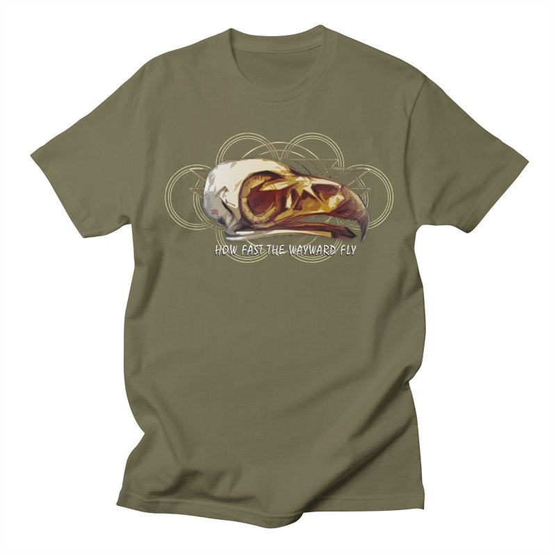 How Fast the Wayward Fly Women's Regular Unisex T-Shirt by Clare Bohning's Shop