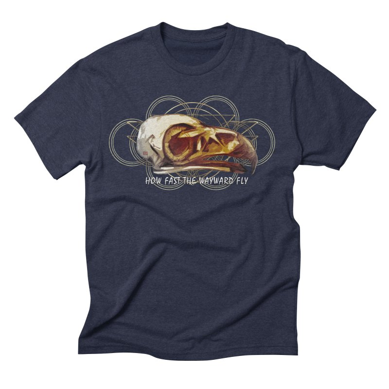 How Fast the Wayward Fly Men's Triblend T-Shirt by Clare Bohning's Shop