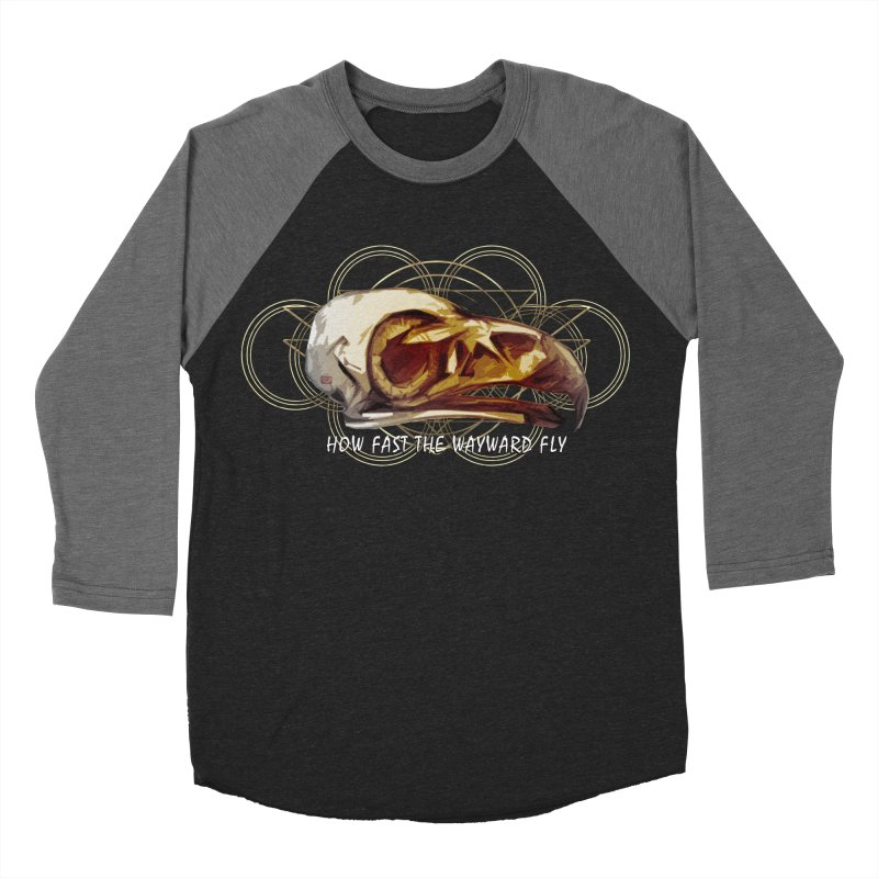How Fast the Wayward Fly Women's Baseball Triblend Longsleeve T-Shirt by Clare Bohning's Shop