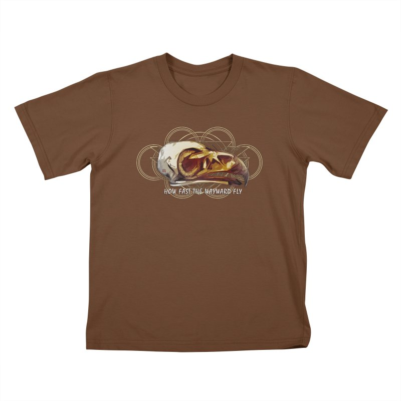 How Fast the Wayward Fly Kids T-Shirt by Clare Bohning's Shop