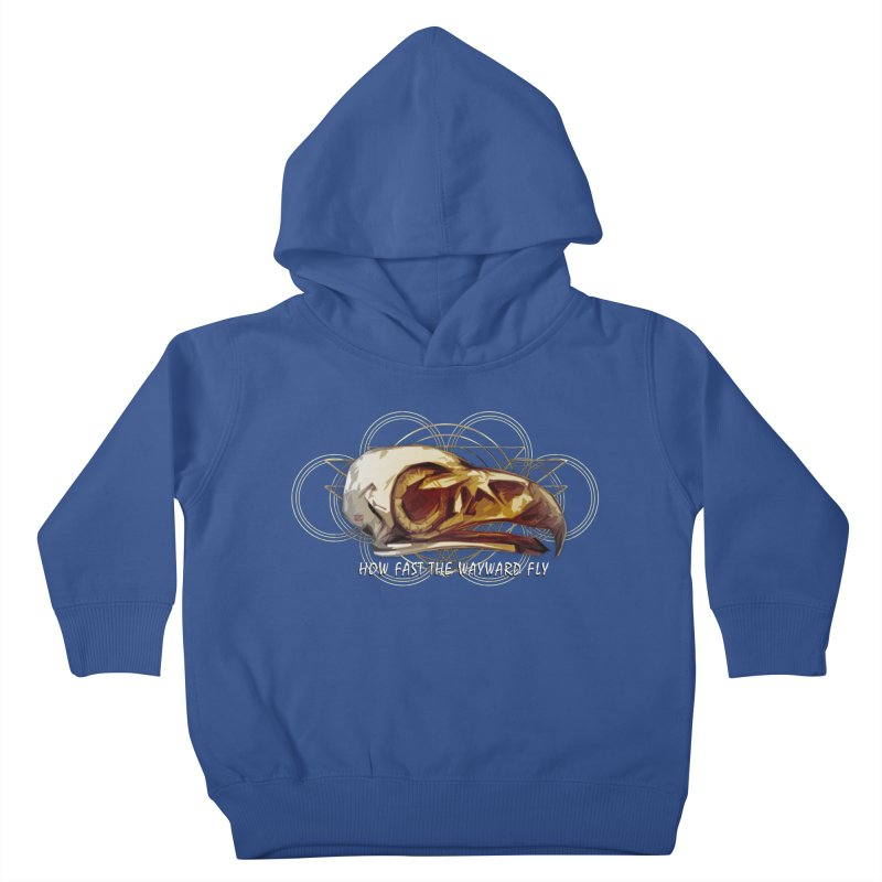 How Fast the Wayward Fly Kids Toddler Pullover Hoody by Clare Bohning's Shop