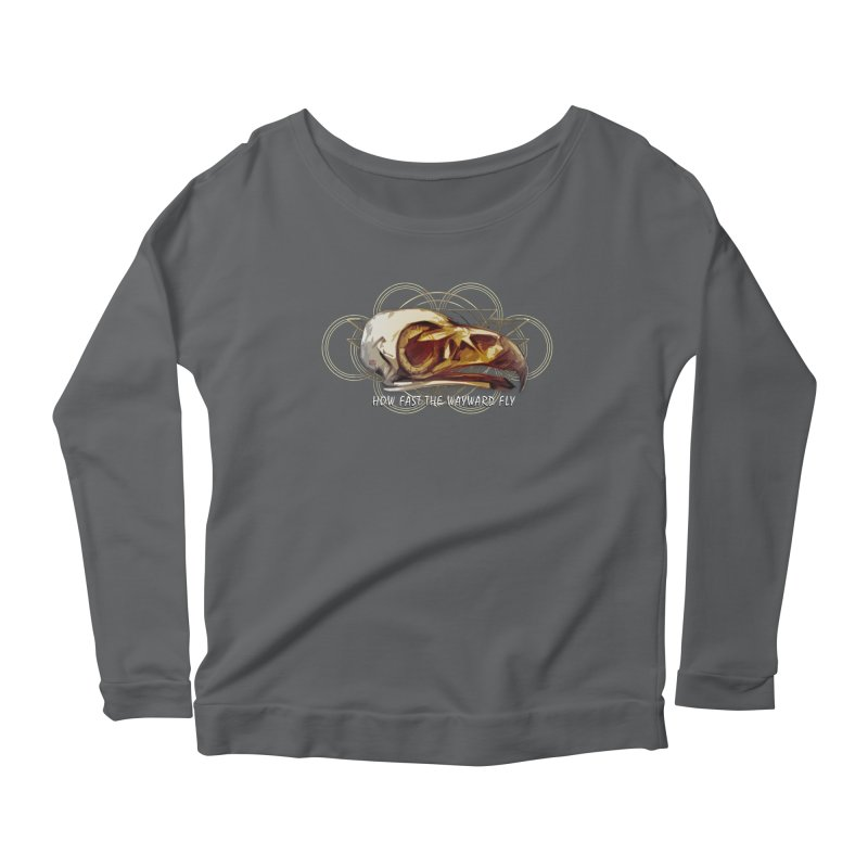 How Fast the Wayward Fly Women's Scoop Neck Longsleeve T-Shirt by Clare Bohning's Shop