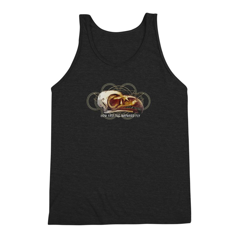 How Fast the Wayward Fly Men's Triblend Tank by Clare Bohning's Shop