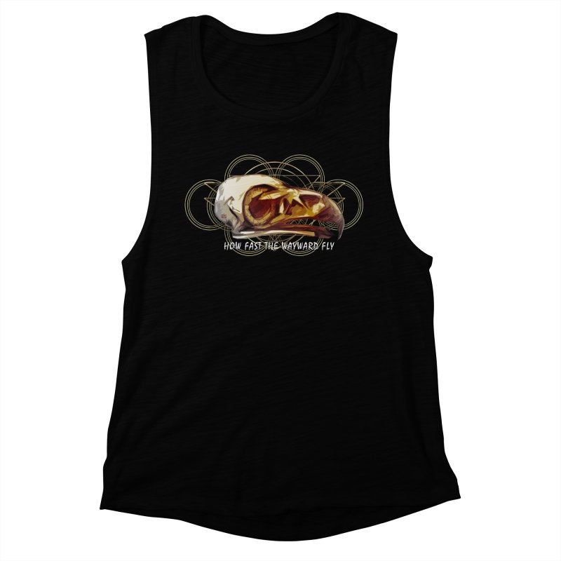 How Fast the Wayward Fly Women's Muscle Tank by Clare Bohning's Shop