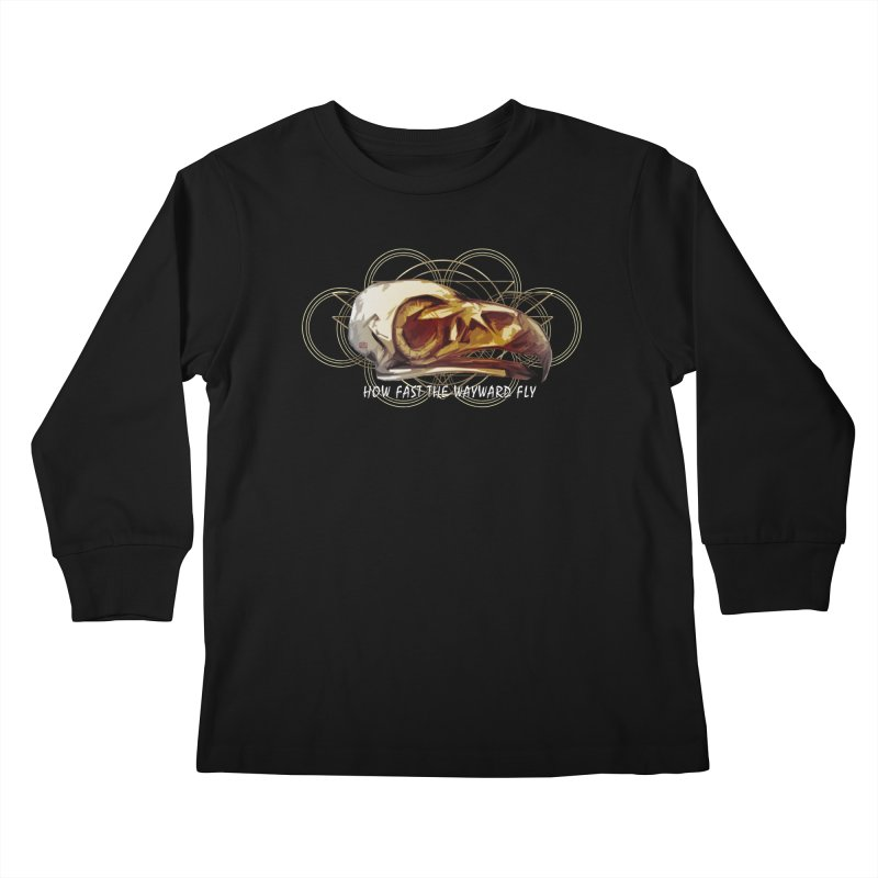 How Fast the Wayward Fly Kids Longsleeve T-Shirt by Clare Bohning's Shop