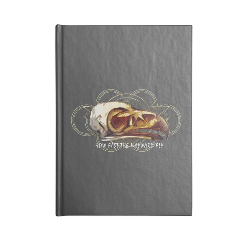 How Fast the Wayward Fly Accessories Notebook by Clare Bohning's Shop
