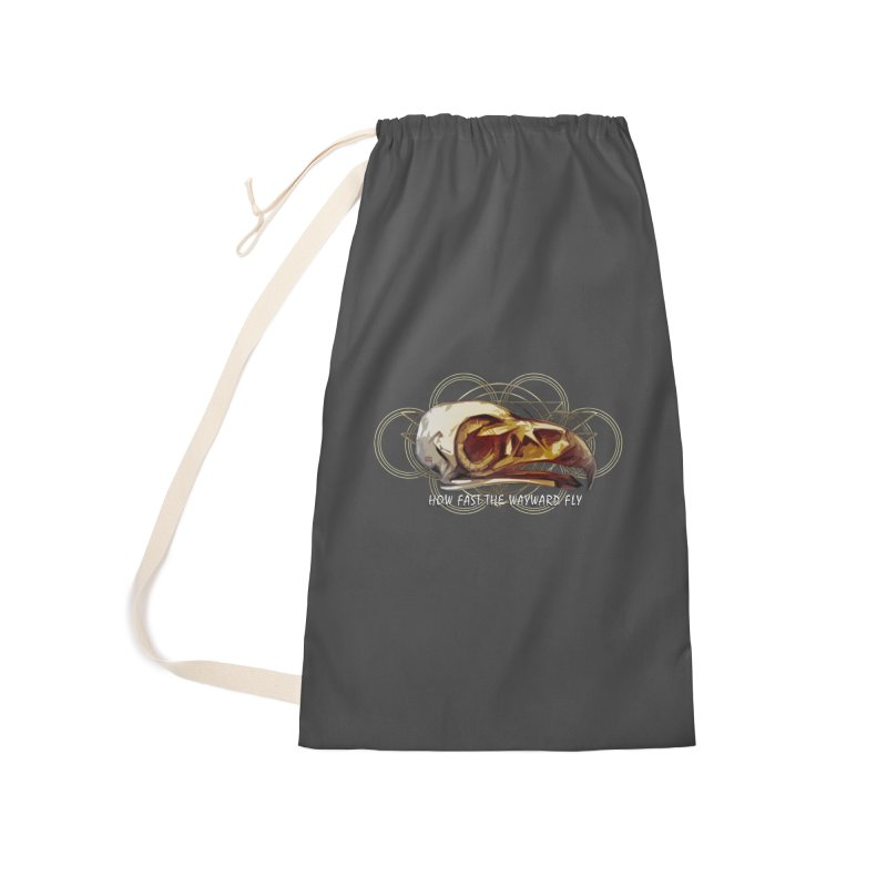 How Fast the Wayward Fly Accessories Laundry Bag Bag by Clare Bohning's Shop