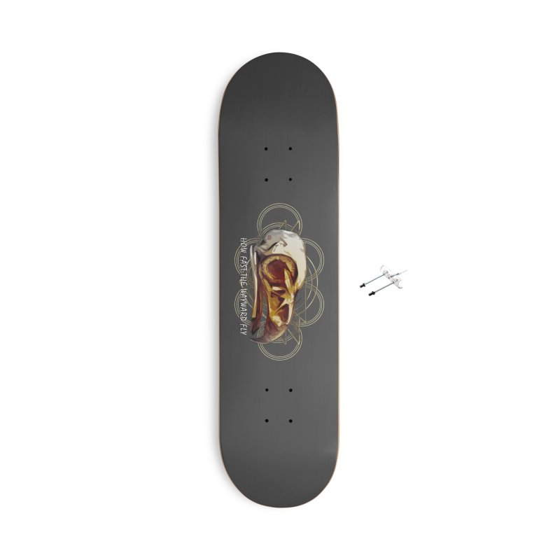 How Fast the Wayward Fly Accessories With Hanging Hardware Skateboard by Clare Bohning's Shop