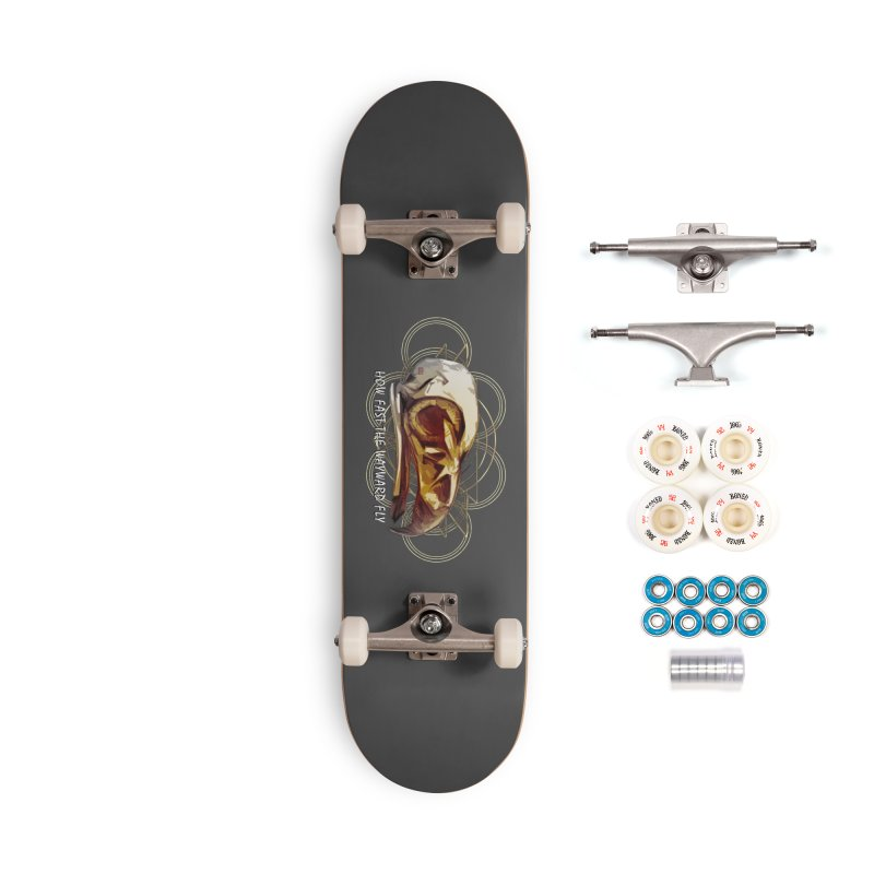 How Fast the Wayward Fly Accessories Complete - Premium Skateboard by Clare Bohning's Shop