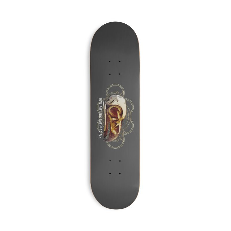 How Fast the Wayward Fly Accessories Deck Only Skateboard by Clare Bohning's Shop