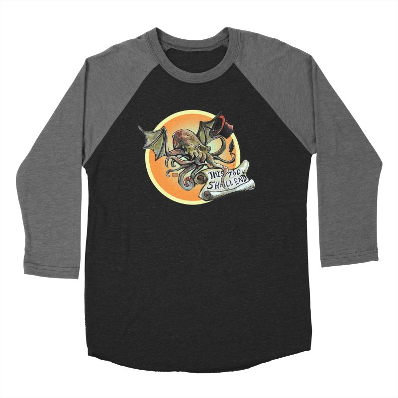 This Too Shall End Women's Baseball Triblend Longsleeve T-Shirt by Clare Bohning's Shop