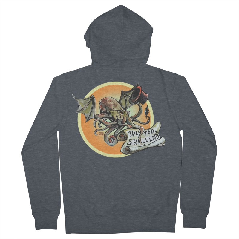 This Too Shall End Women's French Terry Zip-Up Hoody by Clare Bohning's Shop
