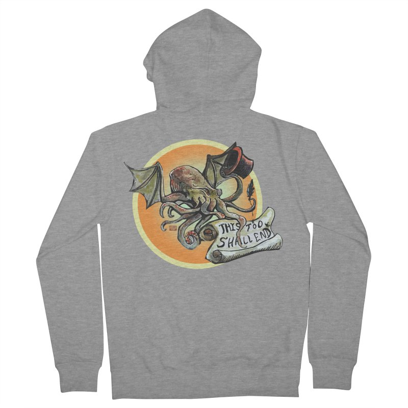 This Too Shall End Men's French Terry Zip-Up Hoody by Clare Bohning's Shop