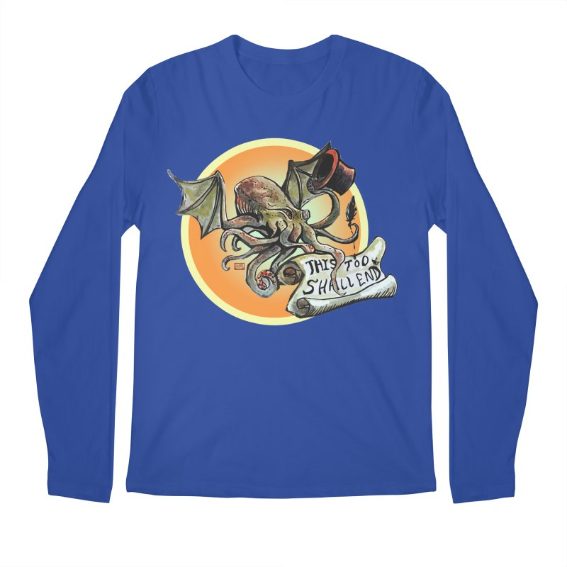 This Too Shall End Men's Regular Longsleeve T-Shirt by Clare Bohning's Shop