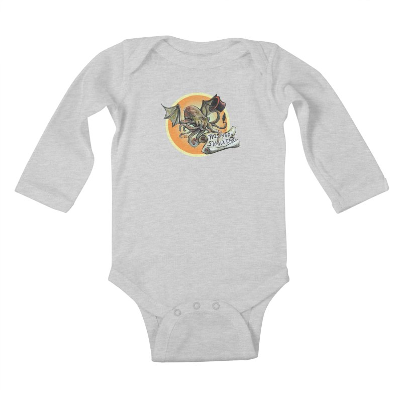This Too Shall End Kids Baby Longsleeve Bodysuit by Clare Bohning's Shop