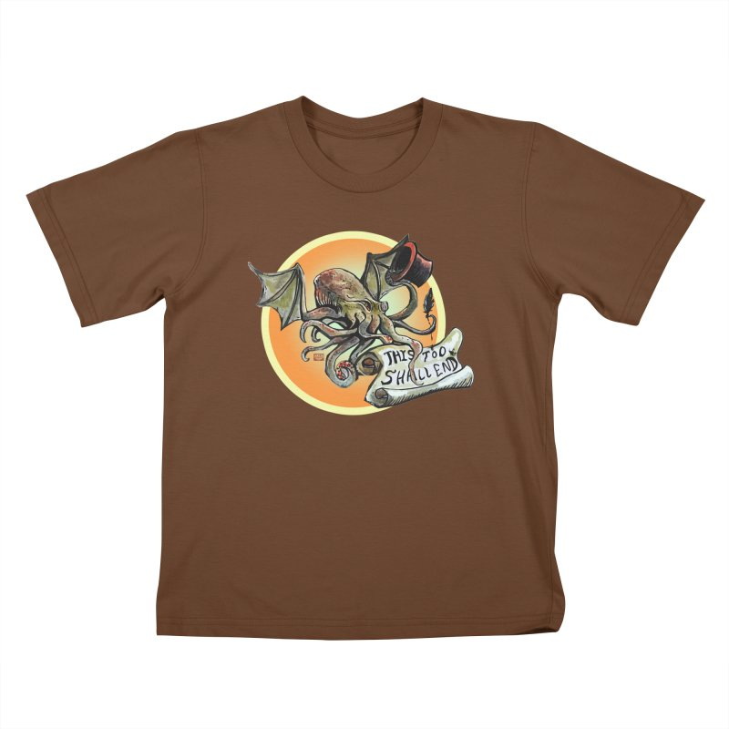 This Too Shall End Kids T-Shirt by Clare Bohning's Shop