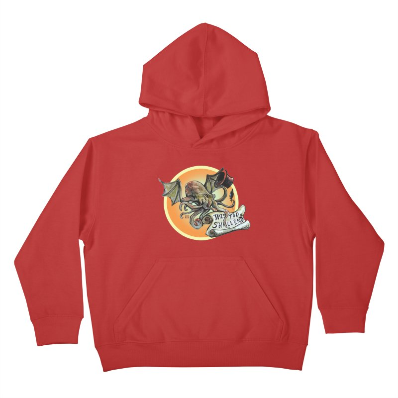 This Too Shall End Kids Pullover Hoody by Clare Bohning's Shop