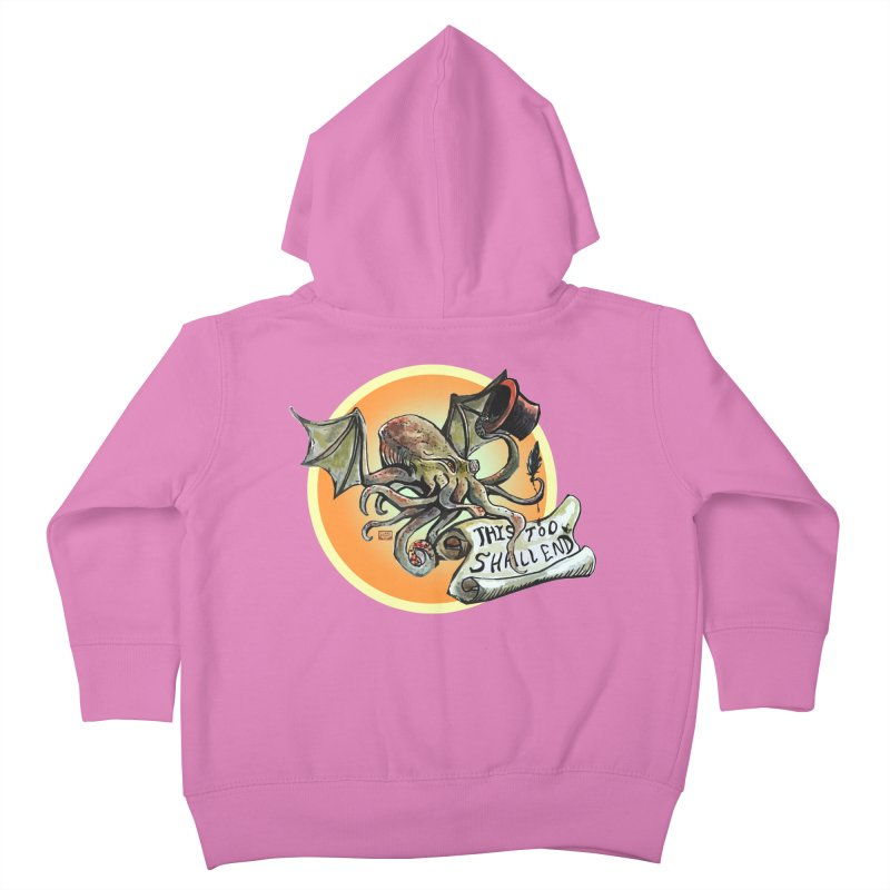 This Too Shall End Kids Toddler Zip-Up Hoody by Clare Bohning's Shop