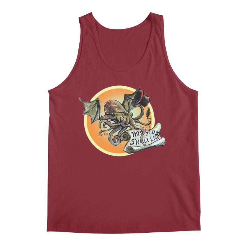 This Too Shall End Men's Regular Tank by Clare Bohning's Shop