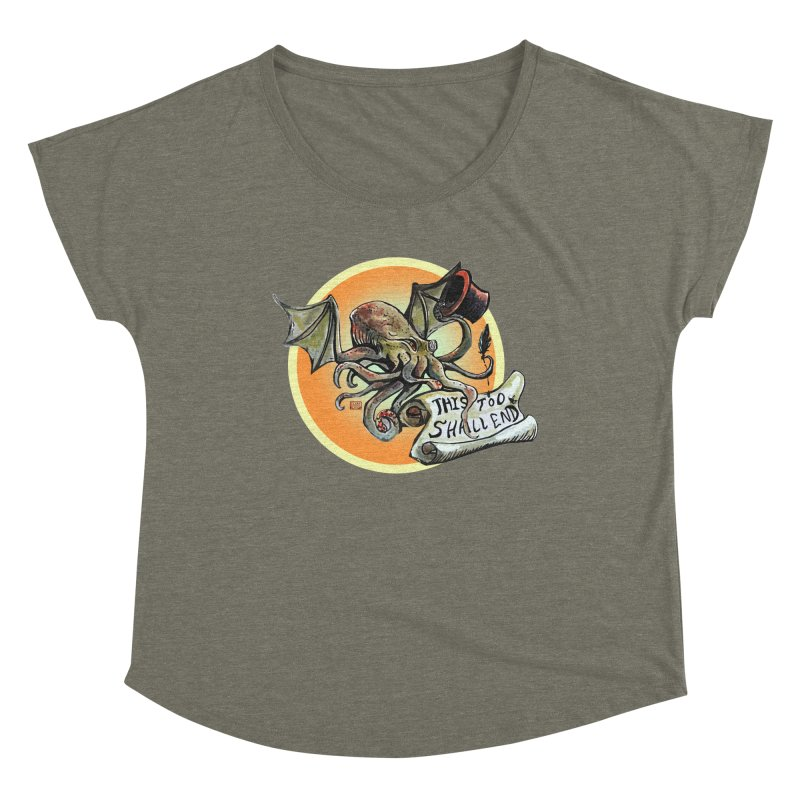This Too Shall End Women's Scoop Neck by Clare Bohning's Shop