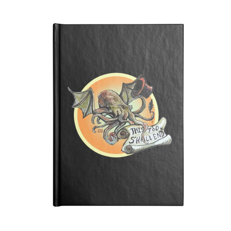 This Too Shall End Accessories Lined Journal Notebook by Clare Bohning's Shop
