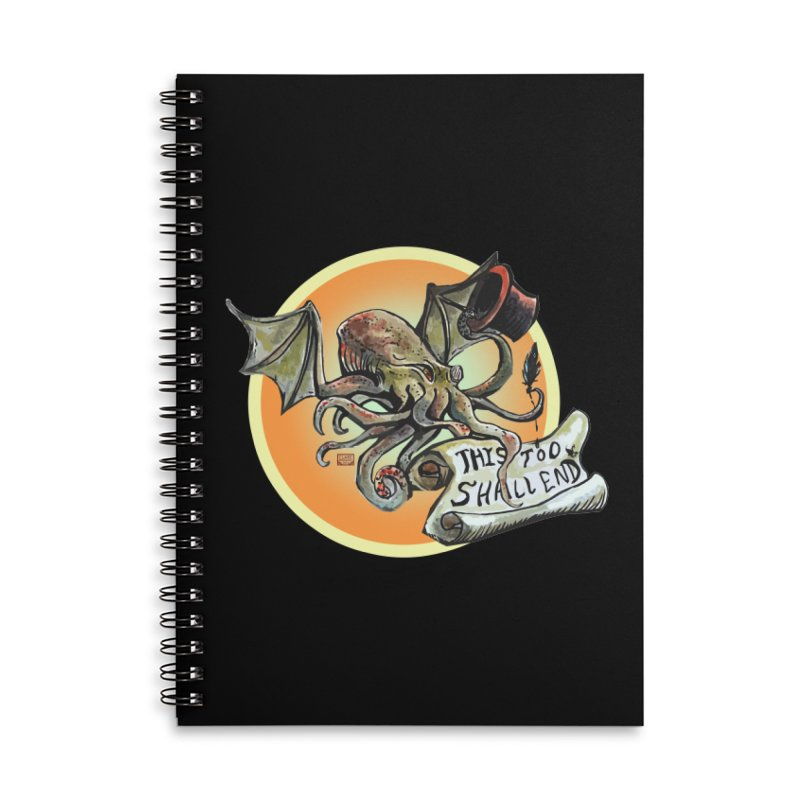 This Too Shall End Accessories Lined Spiral Notebook by Clare Bohning's Shop