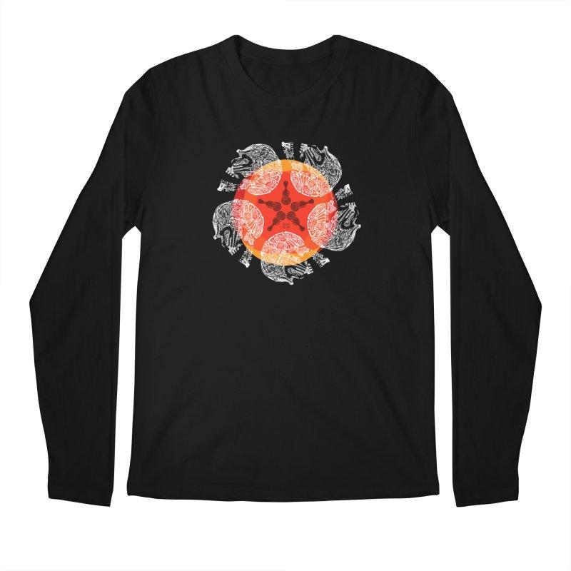 Voltaire Men's Regular Longsleeve T-Shirt by Clare Bohning's Shop