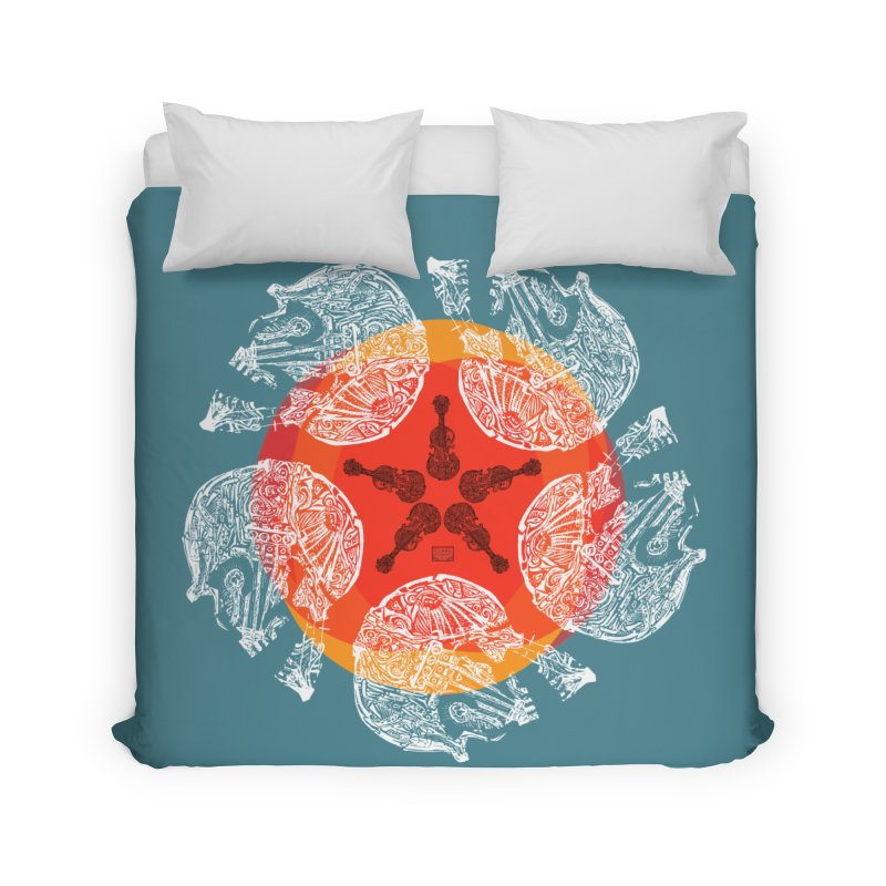Voltaire Home Duvet by Clare Bohning's Shop