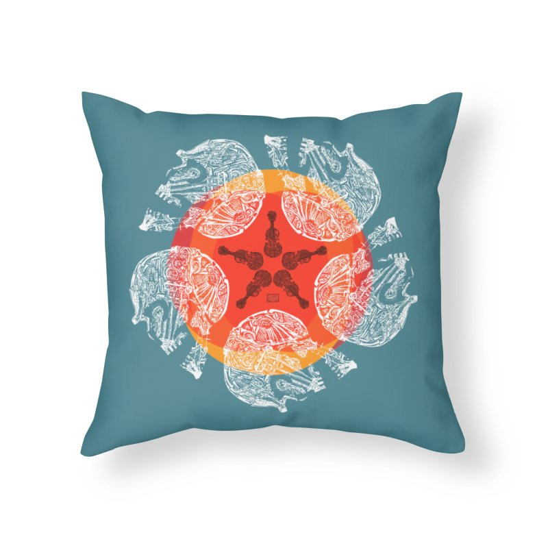 Voltaire Home Throw Pillow by Clare Bohning's Shop