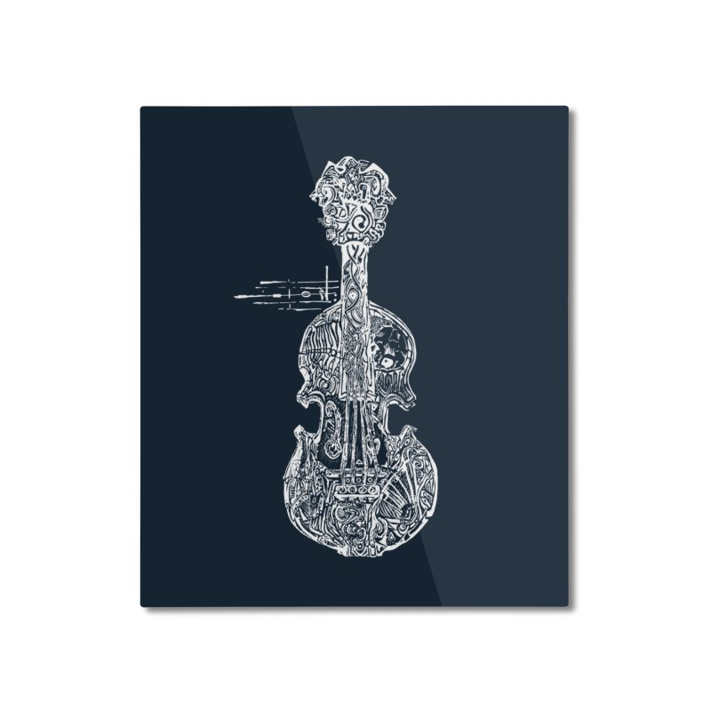 Revenge Of The 5th Note Home Mounted Aluminum Print by Clare Bohning's Shop
