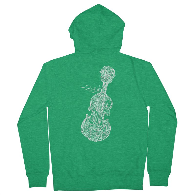 Revenge Of The 5th Note Men's Zip-Up Hoody by Clare Bohning's Shop
