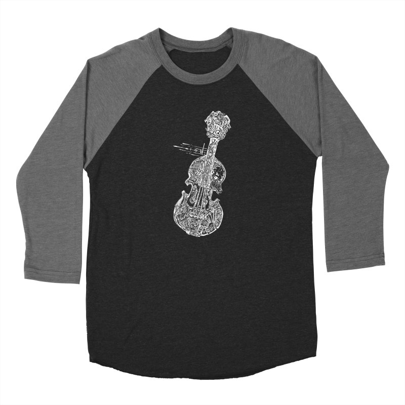 Revenge Of The 5th Note Men's Baseball Triblend Longsleeve T-Shirt by Clare Bohning's Shop