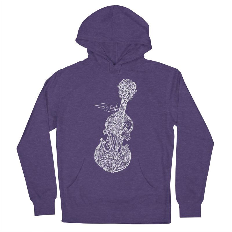 Revenge Of The 5th Note Men's French Terry Pullover Hoody by Clare Bohning's Shop
