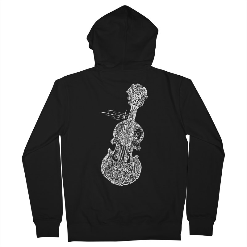 Revenge Of The 5th Note Women's French Terry Zip-Up Hoody by Clare Bohning's Shop
