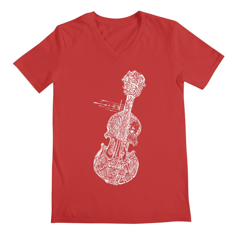 Revenge Of The 5th Note Men's V-Neck by Clare Bohning's Shop