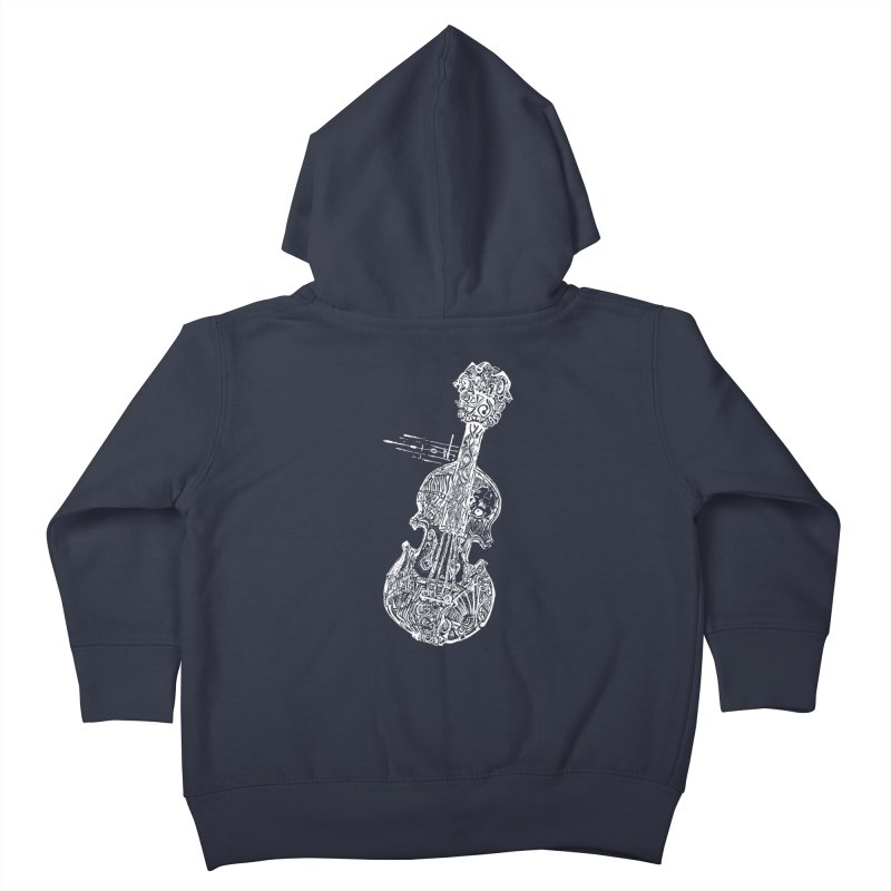 Revenge Of The 5th Note Kids Toddler Zip-Up Hoody by Clare Bohning's Shop