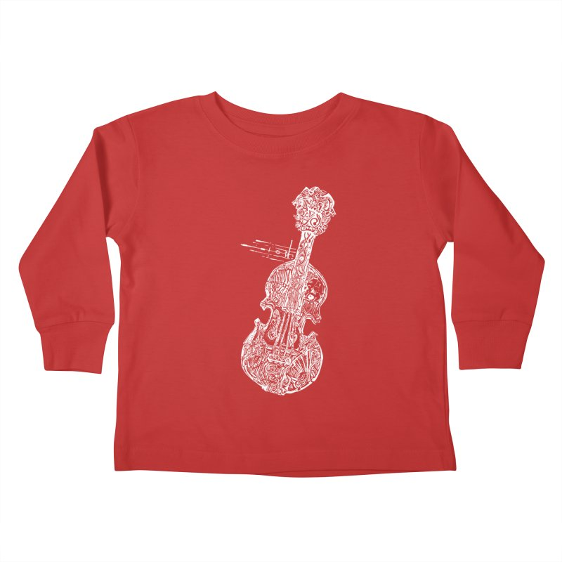 Revenge Of The 5th Note Kids Toddler Longsleeve T-Shirt by Clare Bohning's Shop