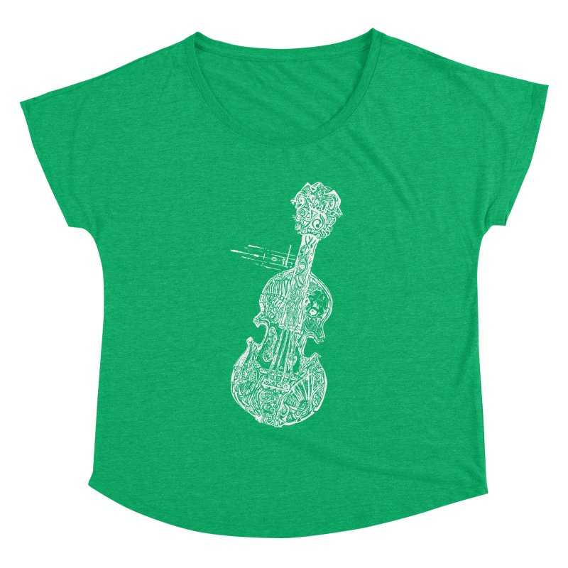 Revenge Of The 5th Note Women's Dolman Scoop Neck by Clare Bohning's Shop