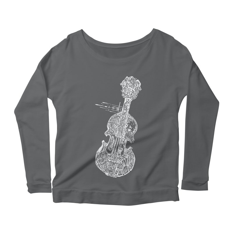 Revenge Of The 5th Note Women's Scoop Neck Longsleeve T-Shirt by Clare Bohning's Shop