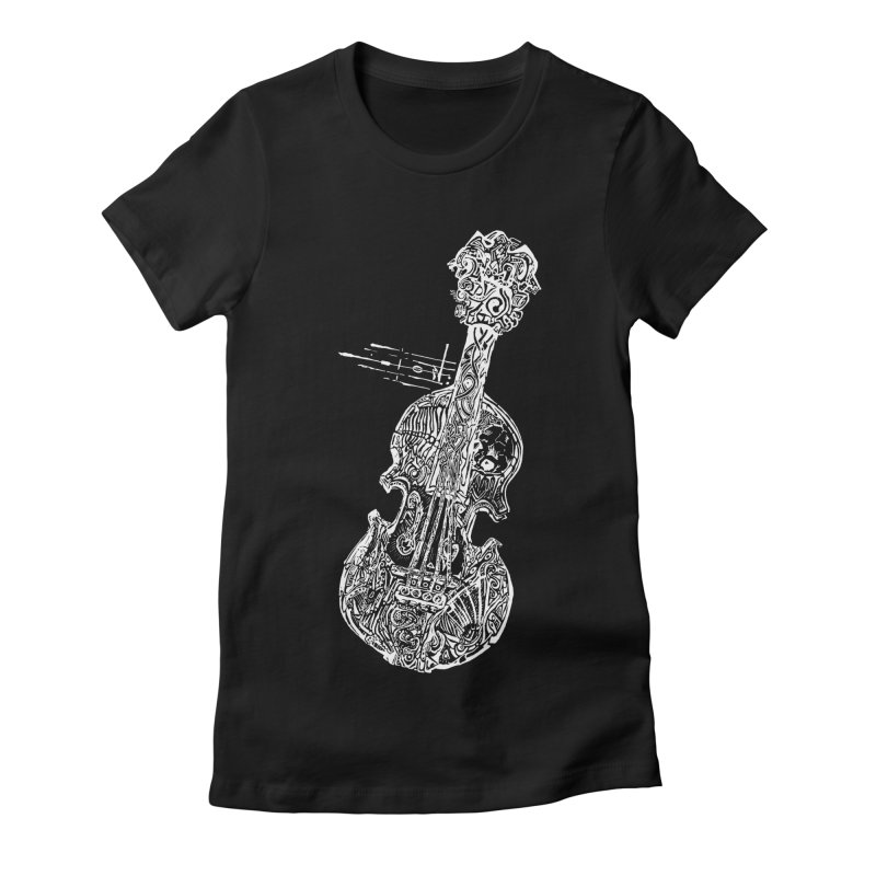 Revenge Of The 5th Note Women's Fitted T-Shirt by Clare Bohning's Shop