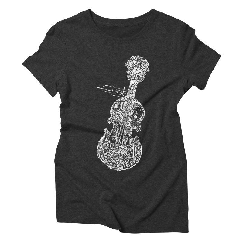 Revenge Of The 5th Note Women's Triblend T-Shirt by Clare Bohning's Shop